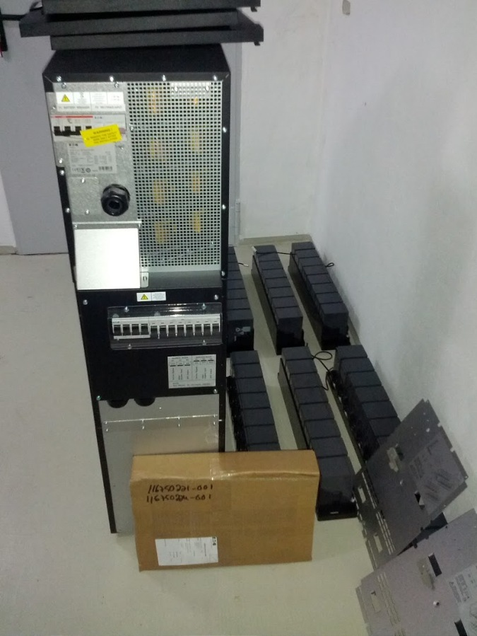 Eaton 9355 waiting to be installed