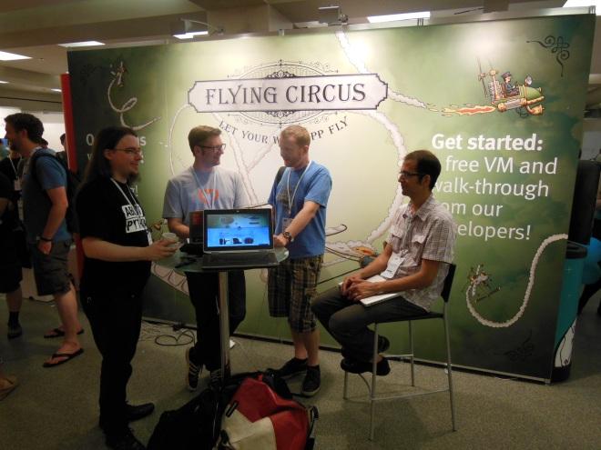 Flying Circus boot at EP14